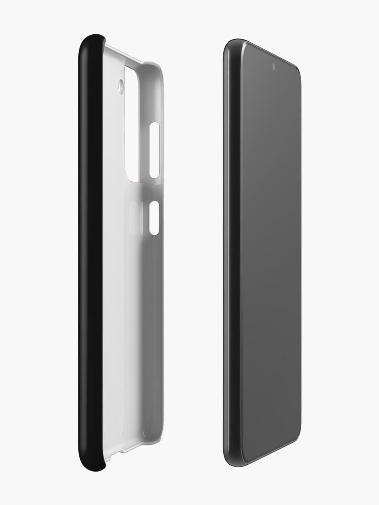 Coque et skin adhésive Samsung Galaxy ''Craignez le mulet': autre vue