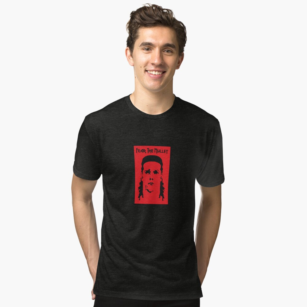 T-shirt chiné «Craignez le mulet»