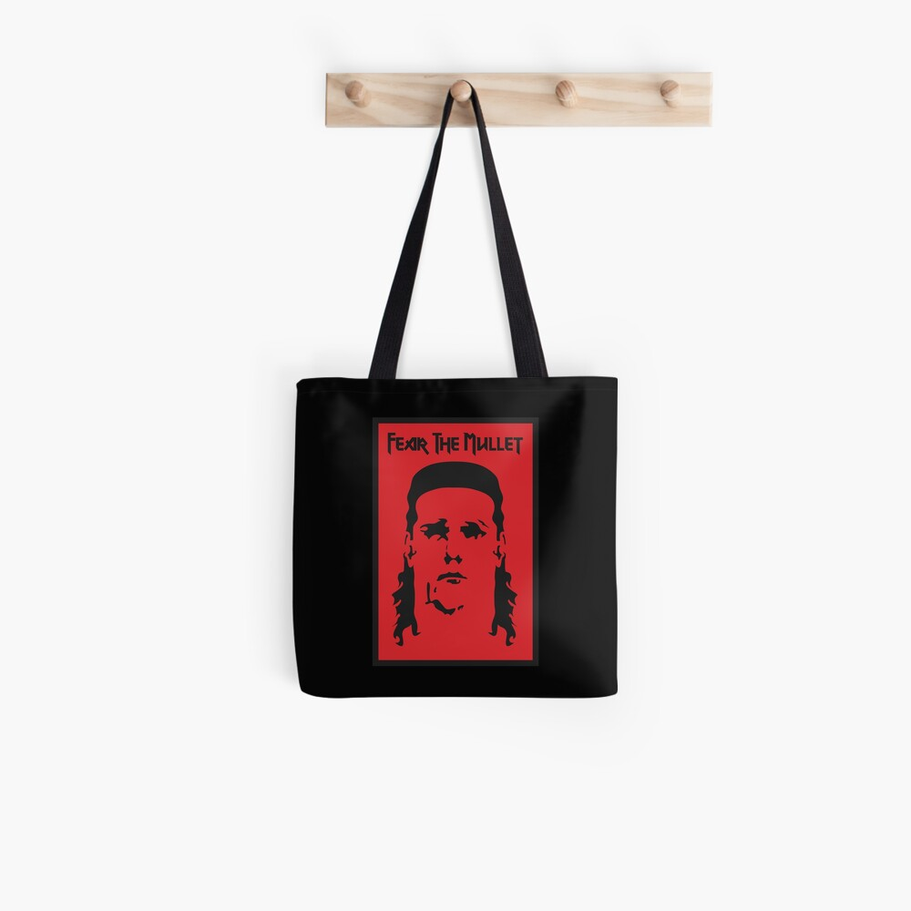 Fear the Mullet Tote Bag