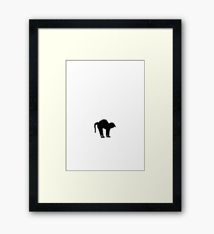 Cat  VRS2 Framed Print