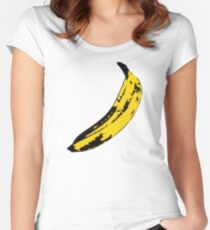 Big Yellow Banana Women's Fitted Scoop T-Shirt