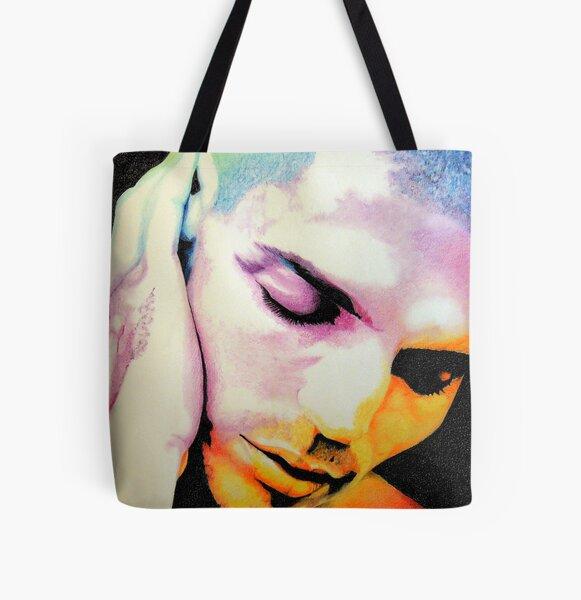 Jivago - drawing portrait All Over Print Tote Bag