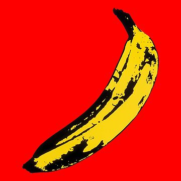 Big Yellow Banana - Red by RockTheShirt