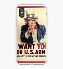Ich will dich für die US Army iPhone-Hülle & Cover