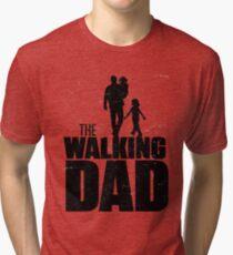 The walking Dad Tri-blend T-Shirt