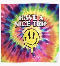Acid Smiley Face - Have A Nice Trip Poster