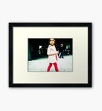 In the Pink (ContrastPunch) Framed Print