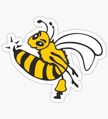 Bee Sting VRS2 Sticker