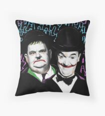 A Pair of Jokers Throw Pillow