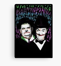 A Pair of Jokers Canvas Print