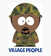 Village People VS South Park - Soldiers Photographic Print