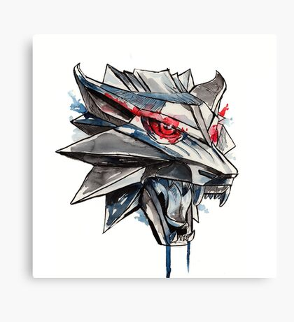 Witcher Medallion Canvas Print