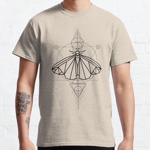Rebirth Moth Mystic - Black Classic T-Shirt