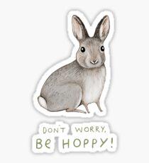 Don't Worry, Be Hoppy! Sticker