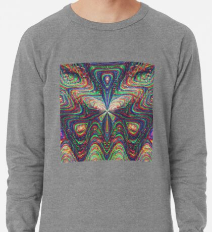 Warrior #DeepDream frequency Lightweight Sweatshirt