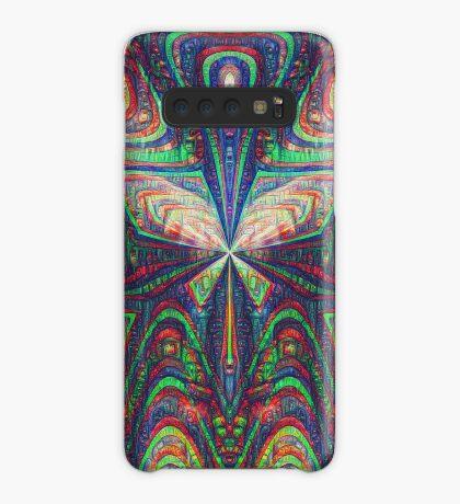 Warrior #DeepDream frequency Case/Skin for Samsung Galaxy