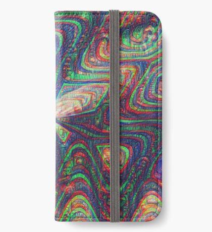 Warrior #DeepDream frequency iPhone Wallet