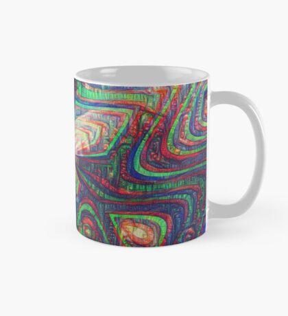 Warrior #DeepDream frequency Mug