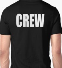 CREW, White type T-Shirt