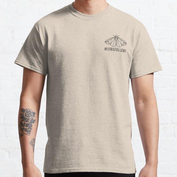 Rebirth Messy Beautiful Growth (Pocket) - Black Classic T-Shirt