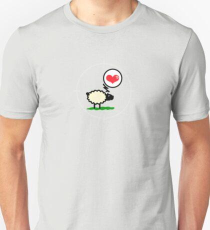 Sheep in Love VRS2 T-Shirt