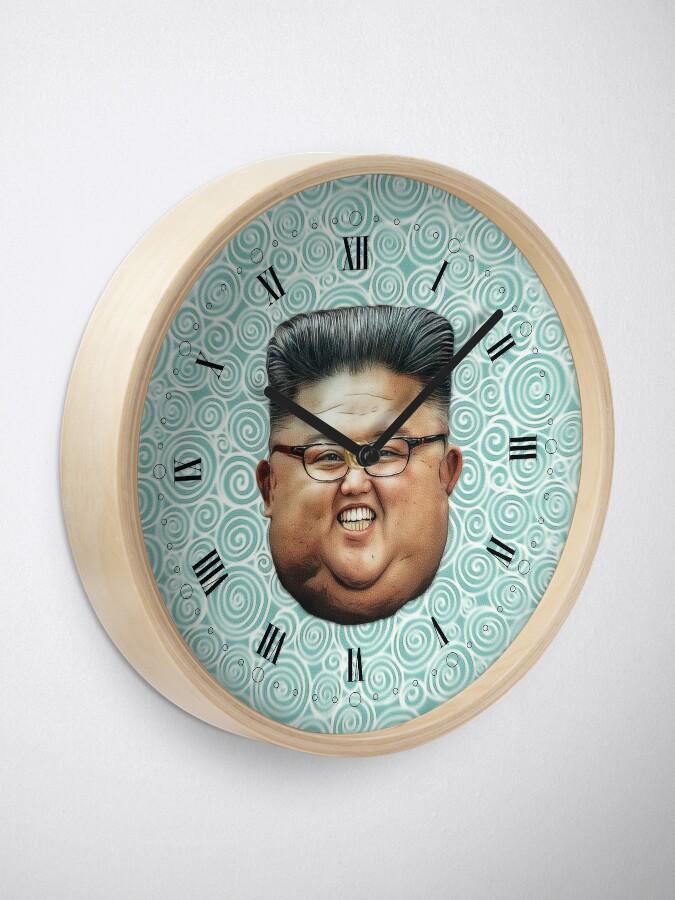 Alternate view of Kim Jong-un Clock