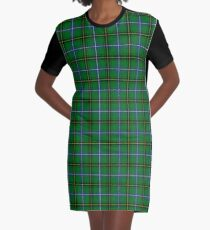 Clan Henderson Tartan Graphic T-Shirt Dress