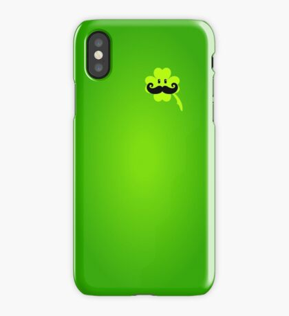 St Patrick: Irish Mustache VRS2 iPhone Case