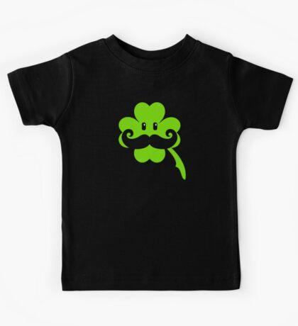 St Patrick: Irish Mustache VRS2 Kids Clothes