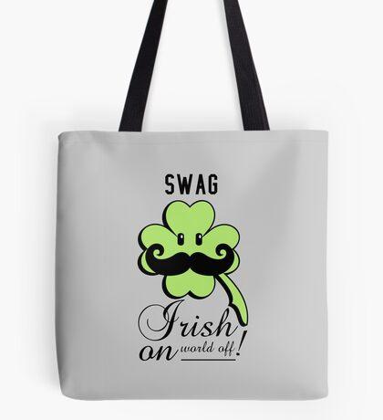 St Patrick: Irish on VRS2 Tote Bag
