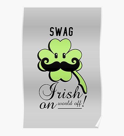 St Patrick: Irish on VRS2 Poster