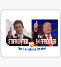 the stifmeister & the sniffmeister Sticker