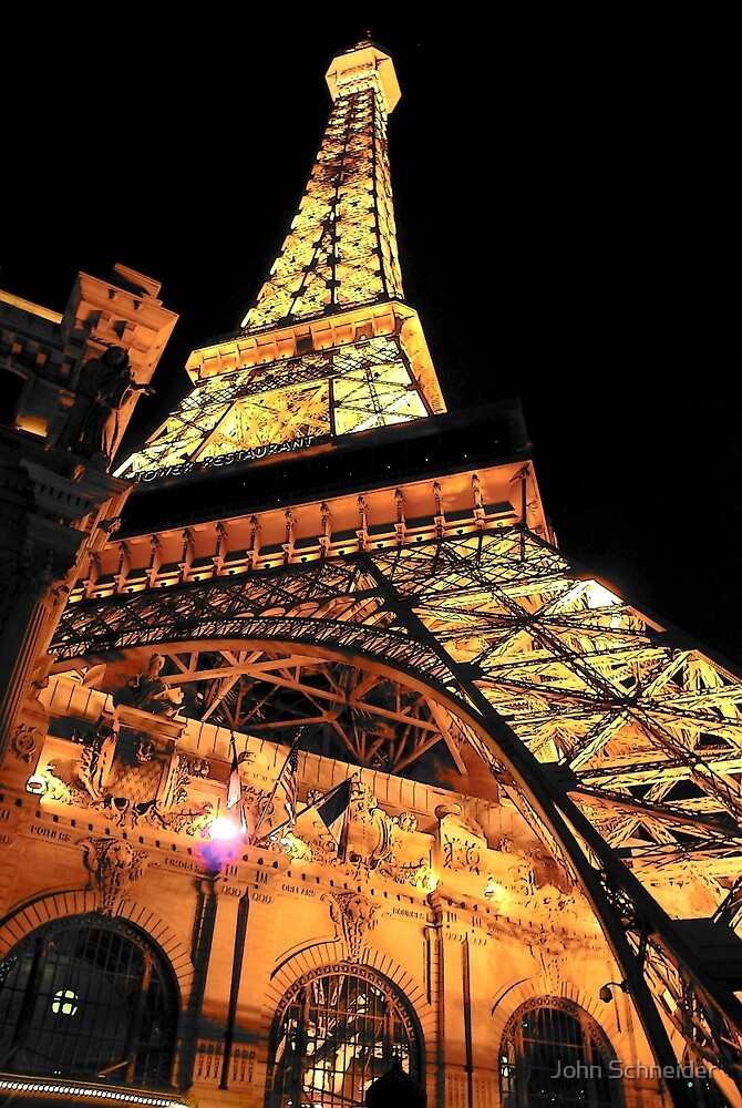 Replica Tower - Paris Casino - LVN by John Schneider