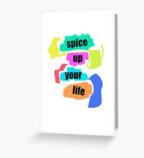 Spice Up Your Life Greeting Card