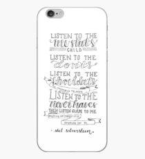 Shel Silverstein iPhone Case