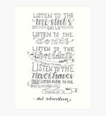 Shel Silverstein Kunstdruck