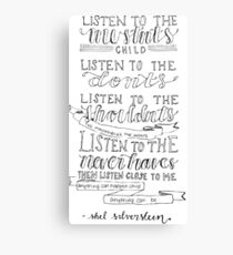 Shel Silverstein Canvas Print