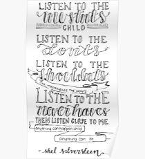 Shel Silverstein Poster