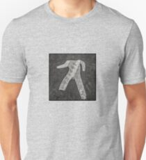 man crossing Unisex T-Shirt