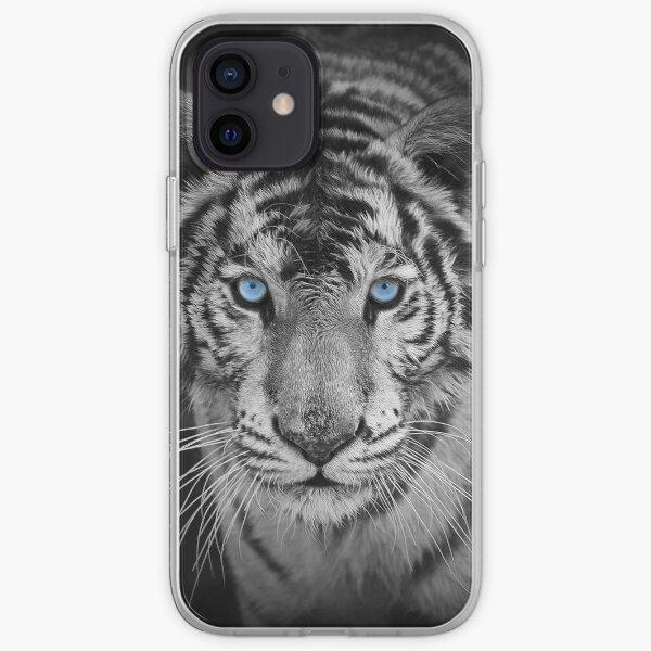 Blue Eyed Bengal Tiger iPhone Soft Case