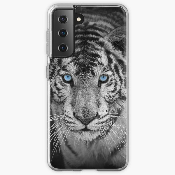 Blue Eyed Bengal Tiger Samsung Galaxy Soft Case