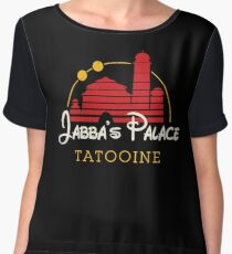Jabba's Palace (dark version) Women's Chiffon Top