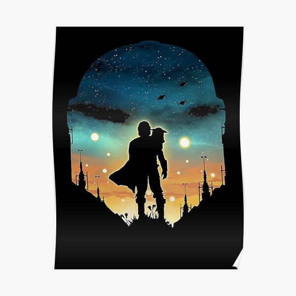 the night duo hunter Poster