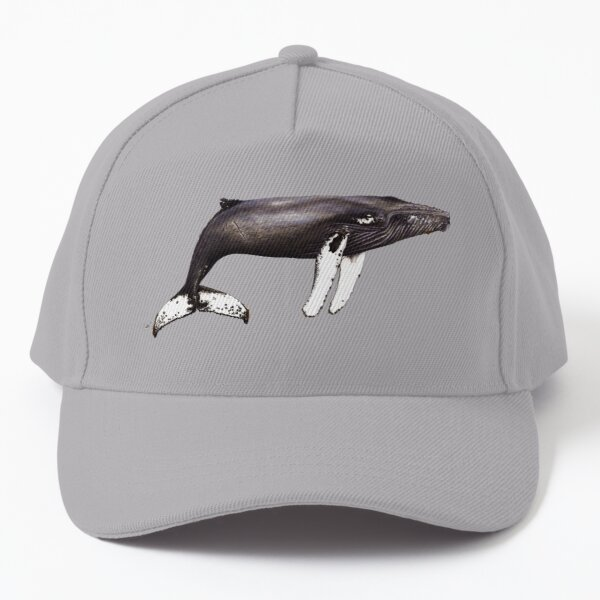 The famous Humpback whale Notch from Cabo Verde Baseball Cap