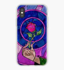 Vinilo o funda para iPhone Single Rose