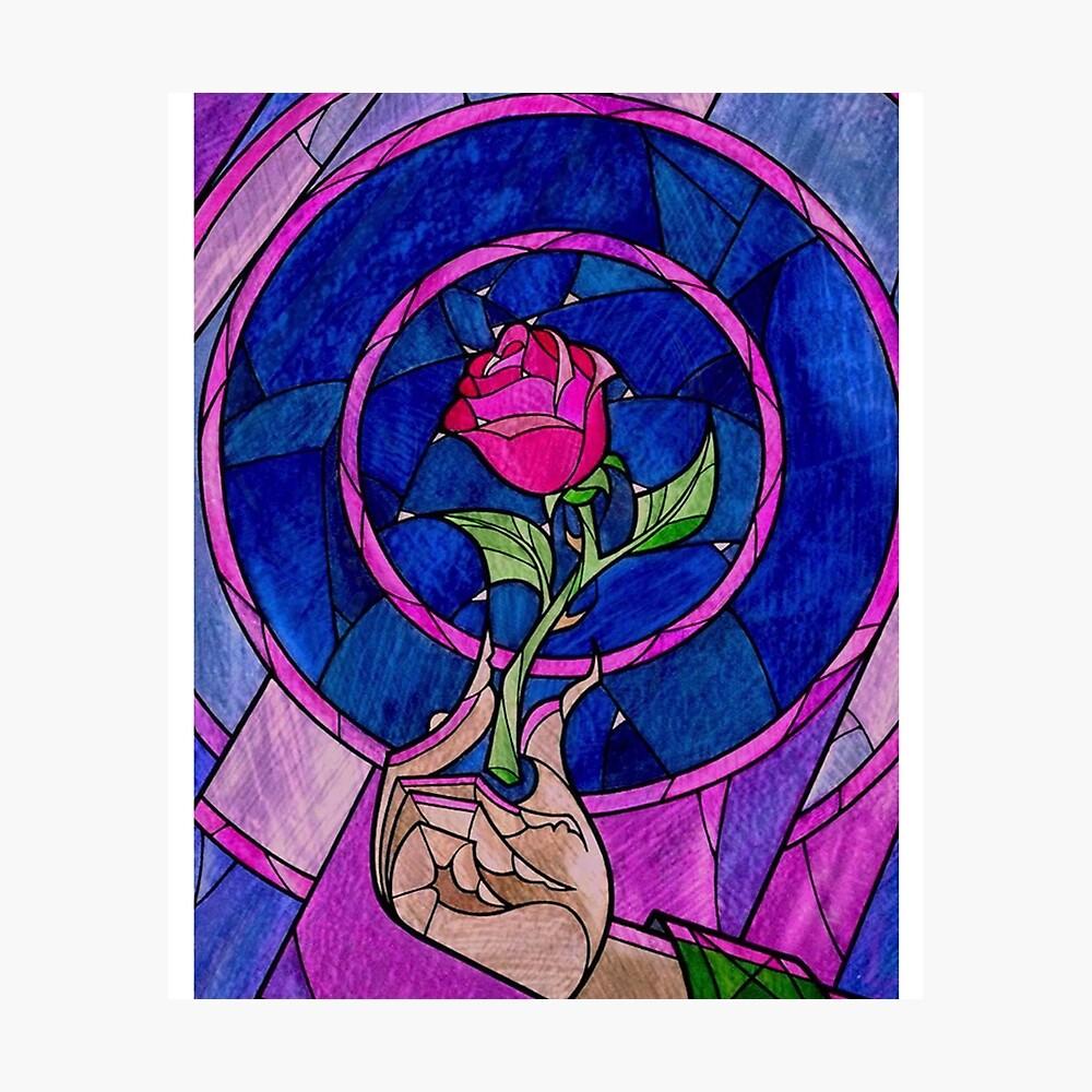 Single Rose Lámina fotográfica