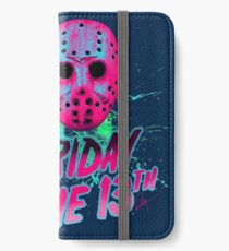FRIDAY THE 13TH Neon V iPhone Wallet/Case/Skin