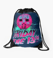 FRIDAY THE 13TH Neon V Drawstring Bag