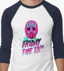 FRIDAY THE 13TH Neon V Men's Baseball ¾ T-Shirt