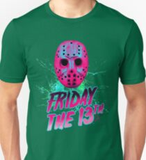FRIDAY THE 13TH Neon V T-Shirt